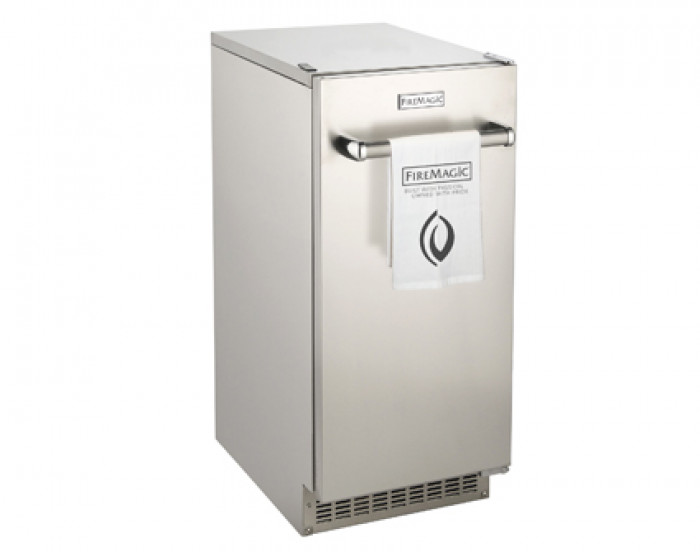 Fire Magic Outdoor High Capacity Ice Maker with Reversible Door Hinge