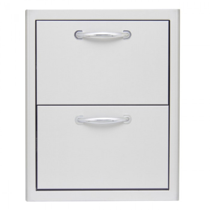 Blaze 16-Inch Double Access Drawer BLZ-DRW2-R