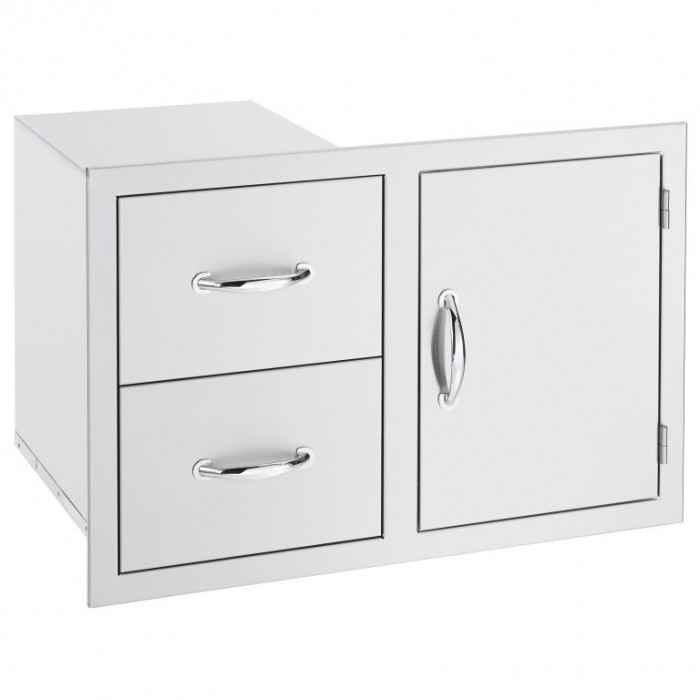 Summerset 2-Drawer/Door Combo SSDC-1