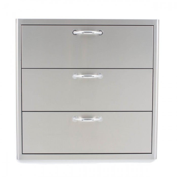 Blaze 30-Inch Triple Access Drawer BLZ-30W-3DRW