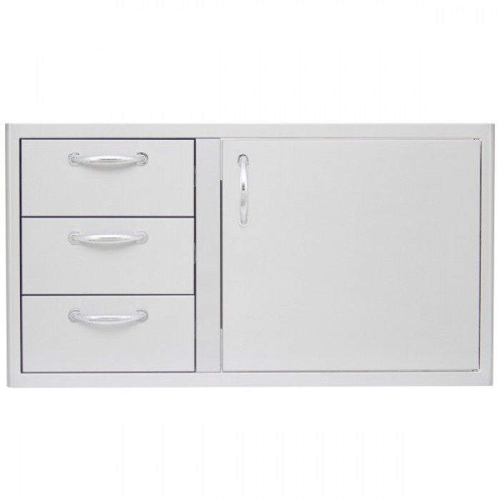 Blaze 39-Inch Drawer Door Combo BLZ-DDC-39-R