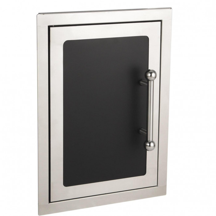 Fire Magic Echelon Black Diamond 14-Inch Vertical Single Access Door
