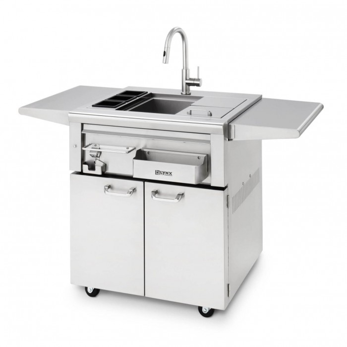 Lynx Professional 30-Inch Cocktail Station On Cart LCS30F-1