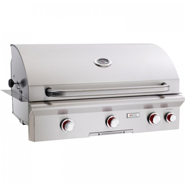 American Outdoor Grill T-Series 36-Inch Built-In Natural Gas Grill With Rotisserie