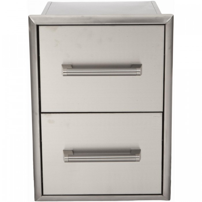 Coyote 16-Inch Double Access Drawer