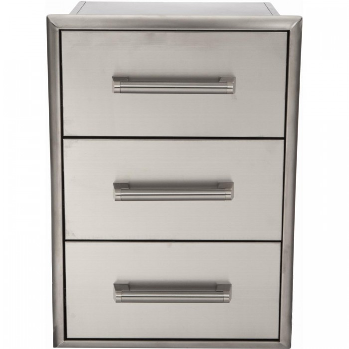 Coyote 18-Inch Triple Access Drawer
