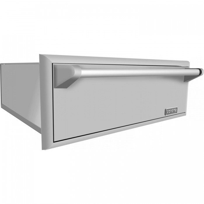 Coyote 30-Inch Outdoor Warming Drawer