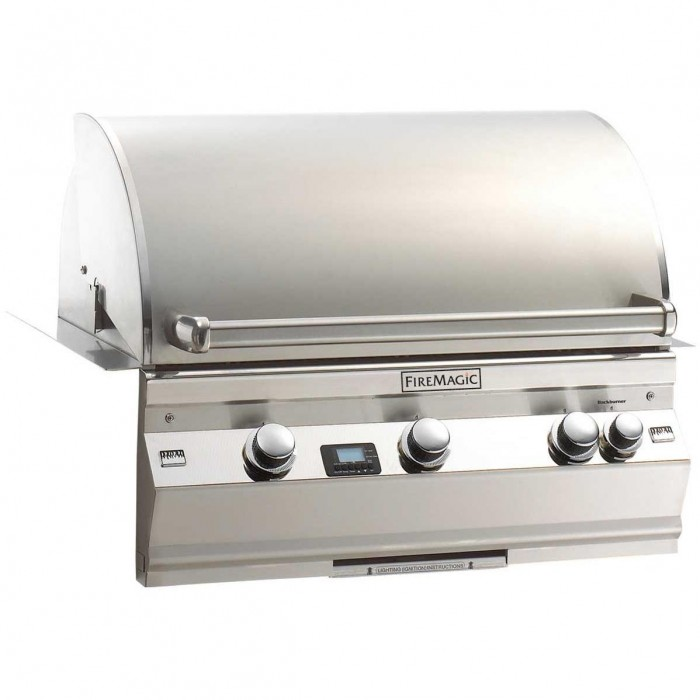 Fire Magic Aurora A540 Gas Built In Grill With One Infrared Burner And Rotisserie