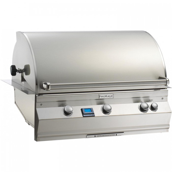 Fire Magic Aurora A790i Built-In Natural Gas Grill With One Infrared Burner And Rotisserie