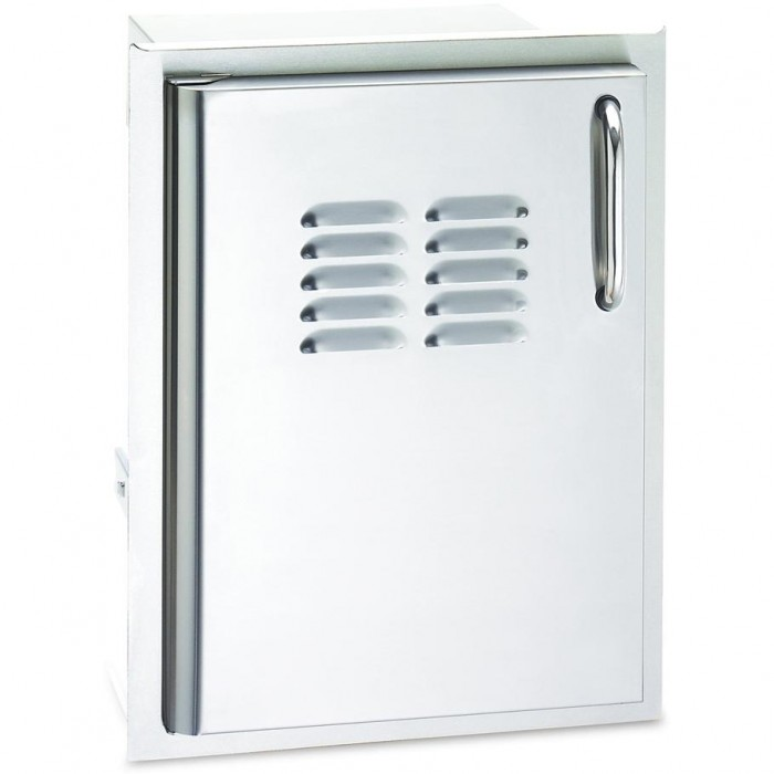 Fire Magic Select 14-Inch Single Access Door With Propane Tank Storage and Louvers