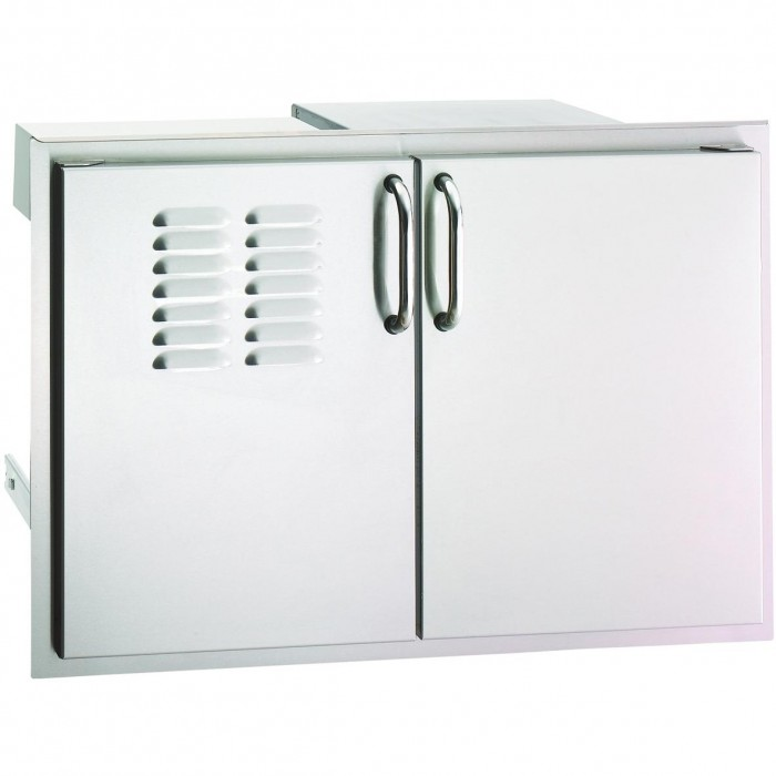 Fire Magic Select 30-Inch Double Access Door With Drawers And Propane Tank Storage
