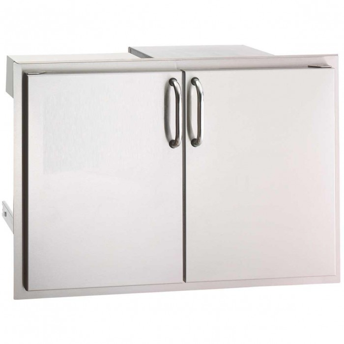 Fire Magic Select 30-Inch Double Access Door With Drawers And Trash Bin Storage