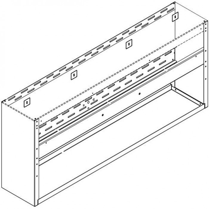Fire Magic Spacer For 42-Inch Vent Hood