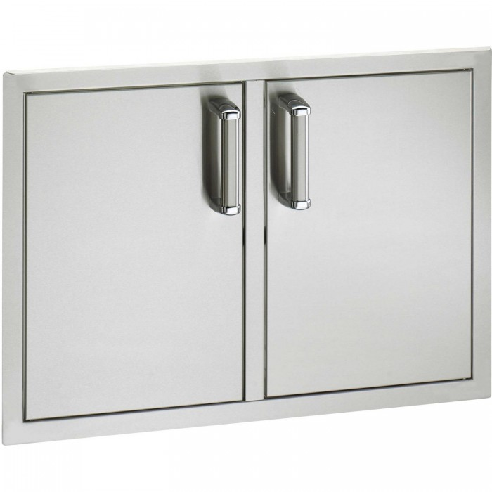 Fire Magic Echelon Flush-Mounted Stainless Double Doors With Trash Tray And Dual Drawers