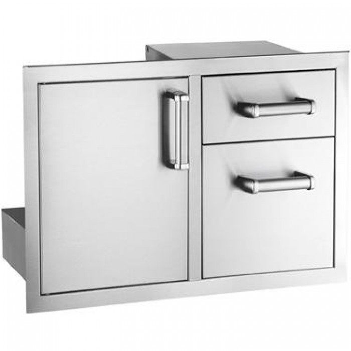 Fire Magic Premium Flush Mount 30-Inch Access Door With Double Drawer Combo