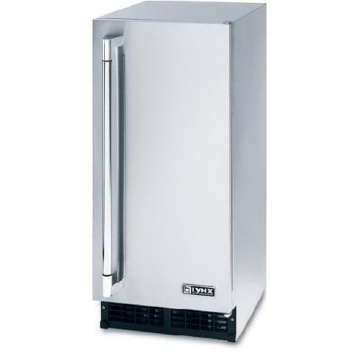 Lynx Professional Outdoor Ice Machine-Stainless Steel-L15ICE