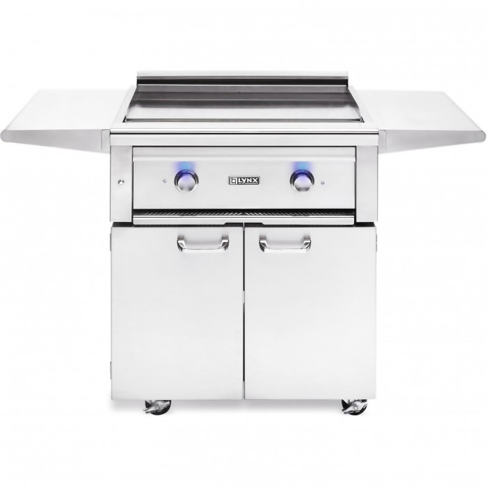 Lynx 30-Inch Asado Gas Grill On Cart With ProSear Burners