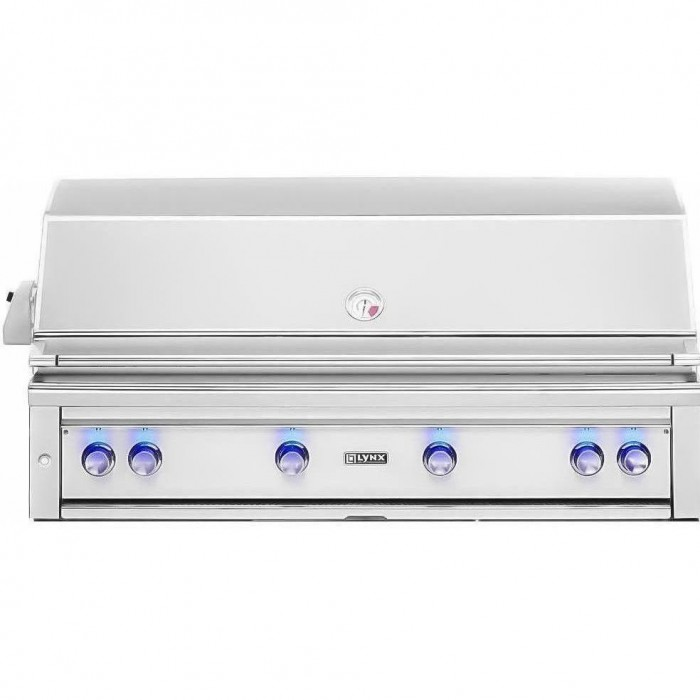 Lynx 54-Inch Built In Gas Grill With Trident ProSear Burner And Rotisserie