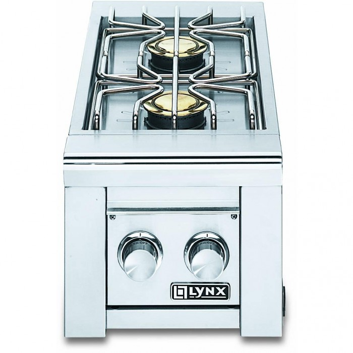 Lynx Professional Double Gas Side Burner LSB2-2 Built-In