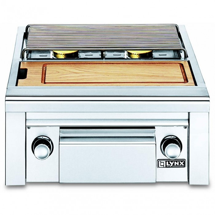 Lynx LSB2PC-1 Built In Side By Side Burner With Prep Center