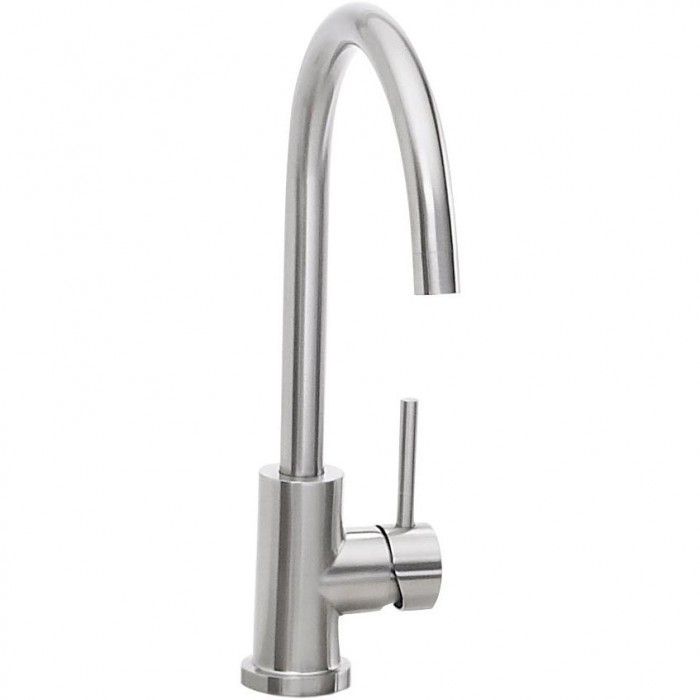 Lynx Single Handle Faucet - Stainless Steel