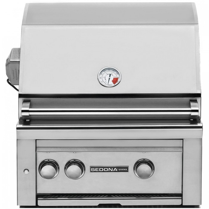 Sedona By Lynx 24 Inch Gas Built-In Grill With ProSear Burner And Rotisserie