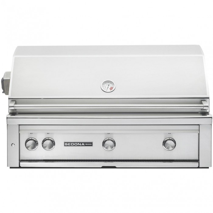 Sedona By Lynx 42 Inch Natural Gas Built-In Grill With ProSear Burner And Rotisserie - L700PSR-NG