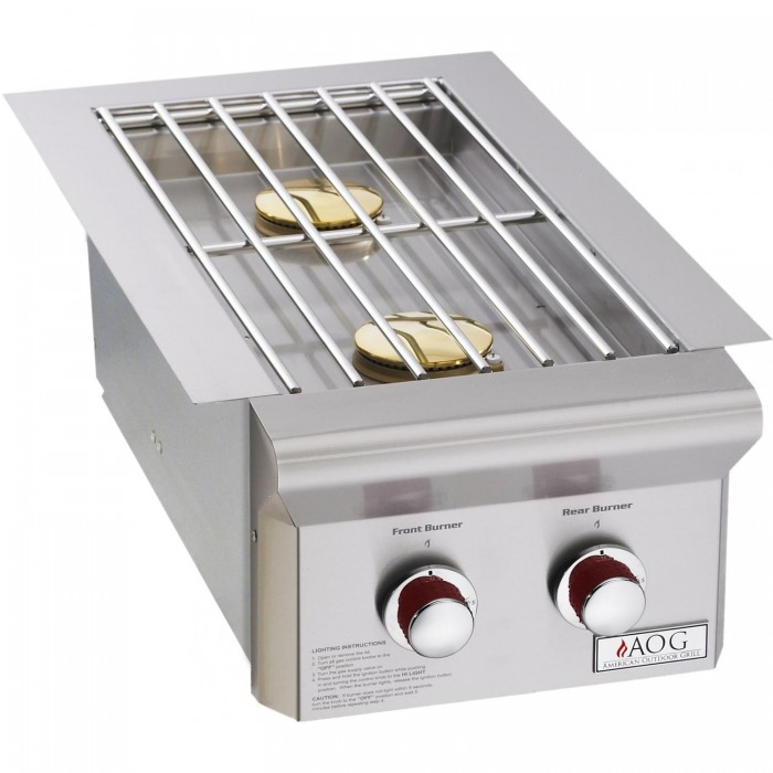 AOG American Outdoor Grill T-Series Built-In Double Side Burner