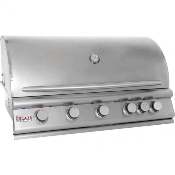 Blaze 40-Inch 5-Burner Gas Grill With Rear Burner BLZ-5