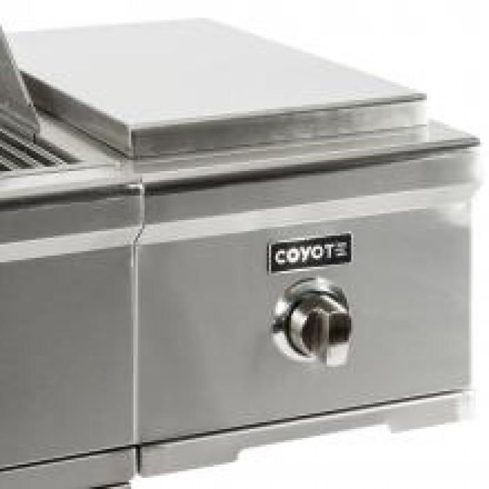 Coyote C-Series Cart Mounted Gas Single Side Burner C1CSB