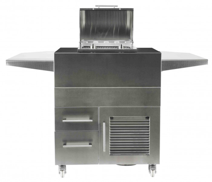 Coyote Stainless Steel Electric Grill Island/Cart