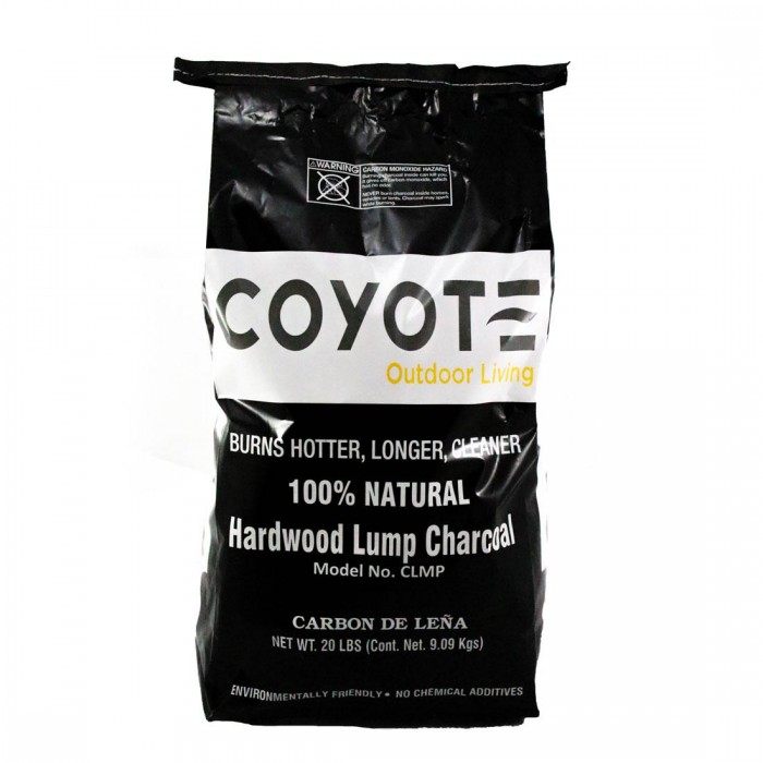Coyote Natural Hardwood Lump Charcoal - 20 Lbs