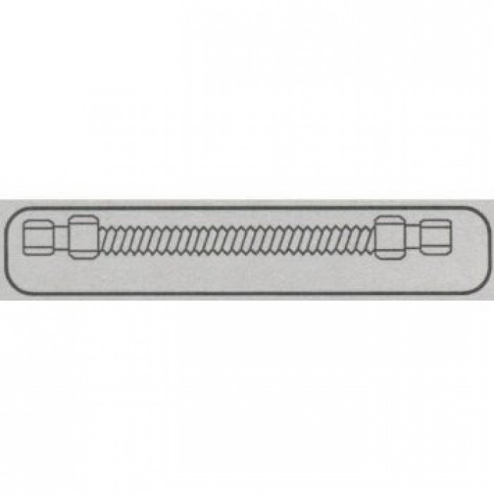 Fire Magic 7/8 x 60-Inch Stainless Flex Connector