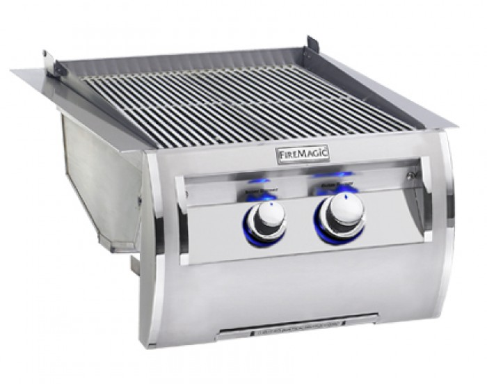 Fire Magic Echelon Diamond Built-In Double Searing Station