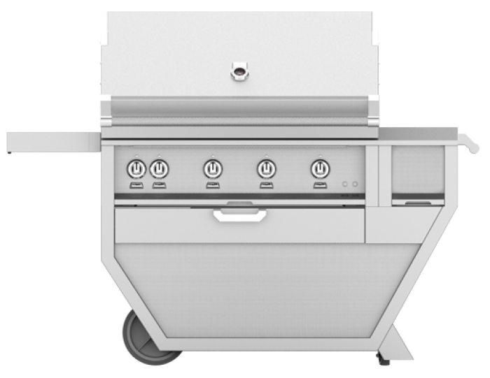 Hestan 42-Inch Deluxe Grill On Cart HS-GSBR42CX