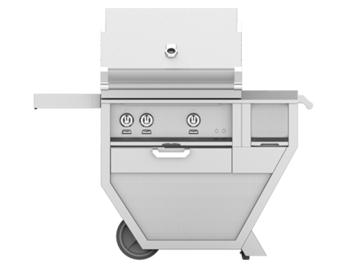 Hestan 30-Inch Deluxe Grill on Cart