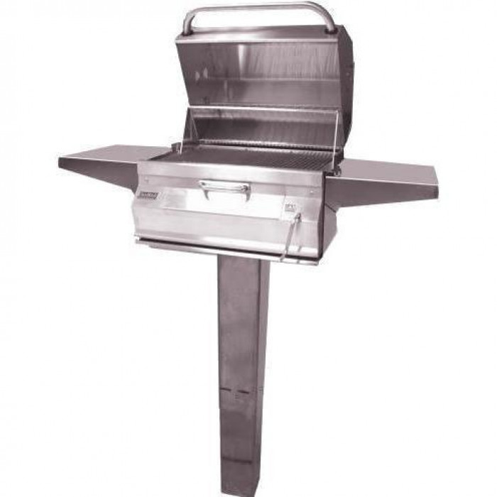 Fire Magic 24-Inch In Ground Post Mount Grill