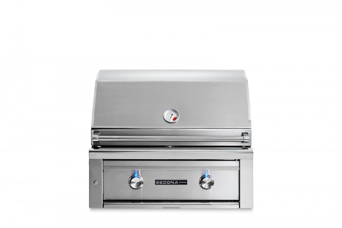 Sedona By Lynx 30-Inch Built-In Gas Grill (2 Stainless Steel Tube Burners) L500