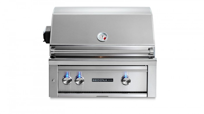Sedona By Lynx 30-Inch Built-In Gas Grill With Rotisserie (2 Stainless Steel Tube Burners) L500R