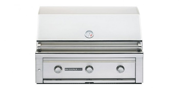 Sedona By Lynx 36-Inch Built-In Gas Grill With ProSear Burner (2 Stainless Steel Tube Burners, 1 ProSear Burner) L600PS