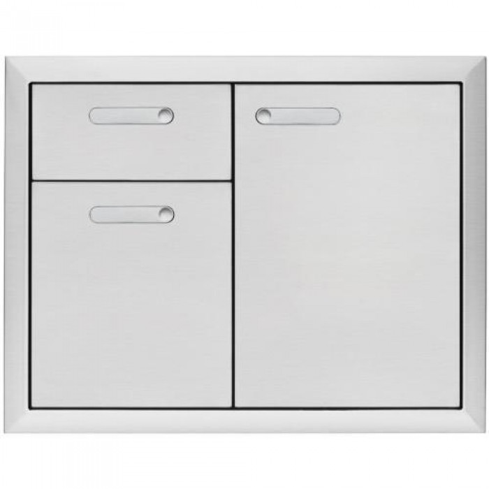 Lynx Ventana 42-Inch Access Door & Double Drawer Combo LSA42-4