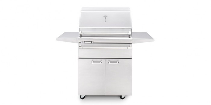 Lynx Sonoma 30-Inch Stainless Steel Gas Smoker On Cart LSMKF