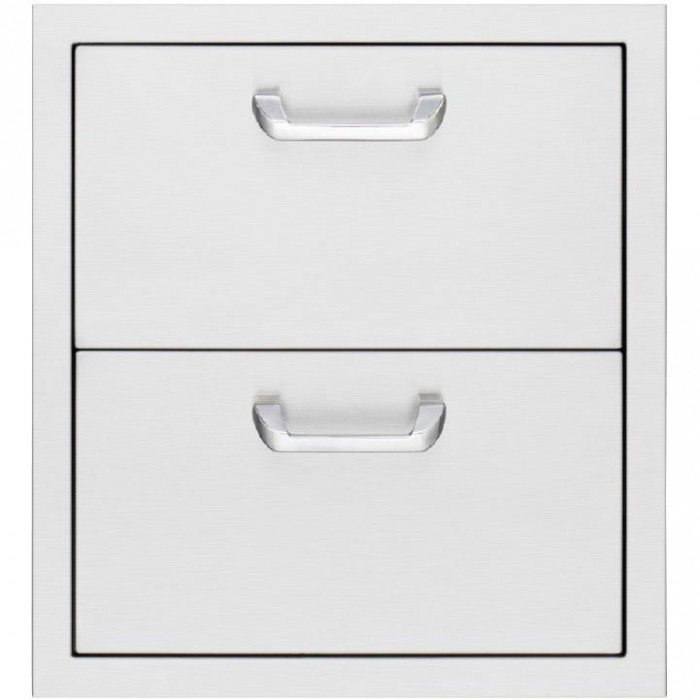 Sedona by Lynx 19 Inch LUD519 Stainless Steel Double Access Drawers