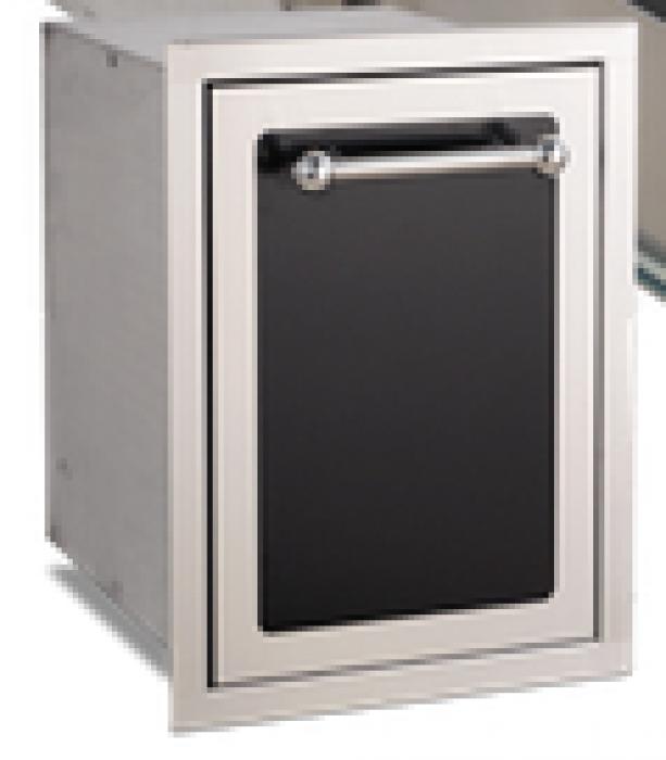 Fire Magic Premium Flush Black Diamond Trash Cabinet