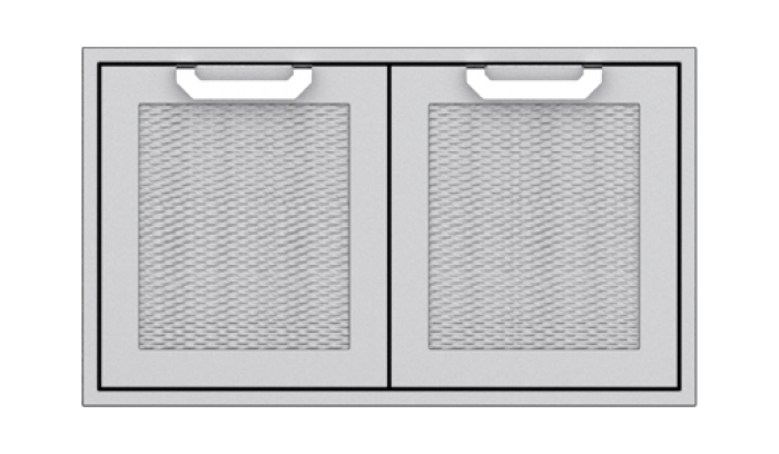 Hestan 36-Inch Double Door Sealed Pantry Storage HS-AGLP36