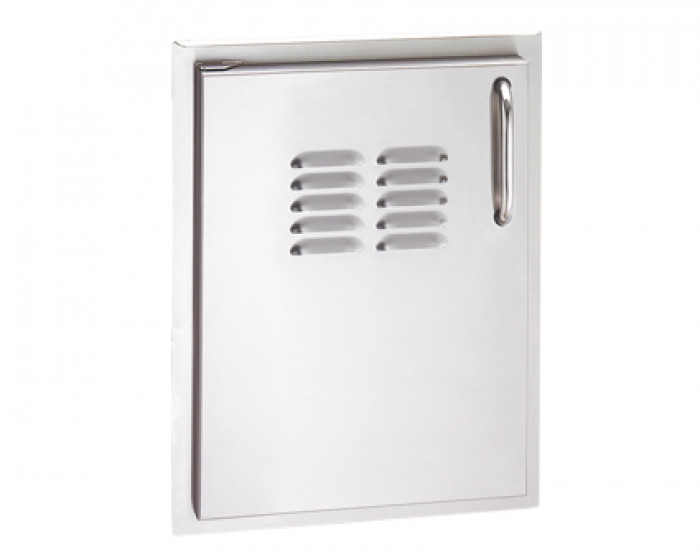 Fire Magic Select 14-Inch Vertical Single Access Door With Louvers 33920-1-S