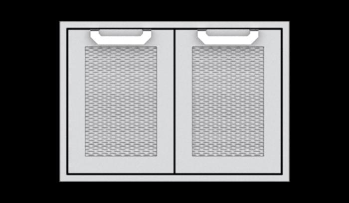 """Hestan 30"""" Double Storage Doors HS-AGSD30"""
