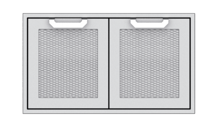 "Hestan 36"" Double Door Sealed Pantry HS-AGSD36"