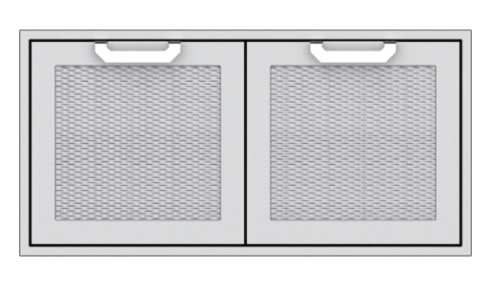 "Hestan 42"" Double Door Sealed Pantry Storage HS-AGSD42"