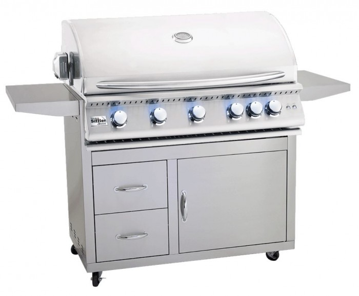 Summerset Sizzler Pro 40-Inch Freestanding Grill Cart (Cart Only) CART-SIZPRO-40